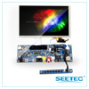SEETEC manufacturer for industry control 8 inch TFT touchscreen display skd module with VGA S-video hdmi