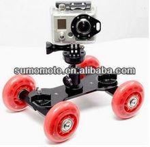 """1/4""""-20 Aluminum Hot shoe mount adapter Dolly Kit Skater DSLR Video Camera Truck"""