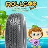 China tire car tire 205/55R16 Rollcoo Brand PCR professional manufacture