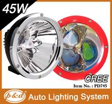 CREE 45W LED Work Light,motorcycle led driving lights,45w cree led work light 12v 24v