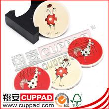 Christmas cup mat bar decoration