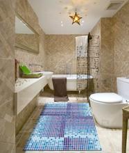eco friendly fashion design vinyl bathroom floor mats