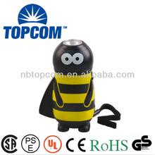 Bee animal type portable emergency hand crank power generator