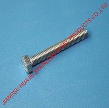 DIN933 Full Thread 5.8 grade bolt m20 m48 Hex Bolt class 5.8 4.8 8.8 STANDARD
