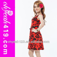Wholesale and retail with belt charming dresses