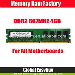 ETT chips best price 256mb*8 non ecc 4gb ddr2 ram stick for desktop