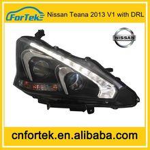 2014 Newest arrival car headlight for Nissan Teana 2013 V1 with DRL