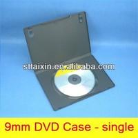 single/double black blank dvd drive case