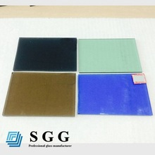 Top quality Tinted colored glass bevels edge