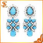 Yiwu wholesale Acrylic &Crystal Jewelry earrings imitation jewellery