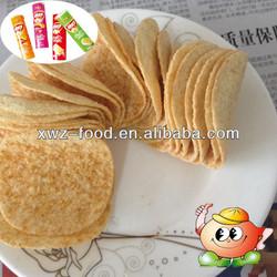 Fashionable Potato chips Pringles' packing tube