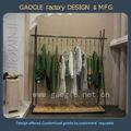 moda vestuário prateleira de exposição para a senhora roupas casuais