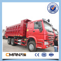 SINOTRUK howo 6x4 336hp stone transportation used double cab truck