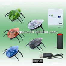 Educational ABS Kids Iphone&Ipad&Ipod R/C Beetle Animal Toys