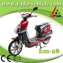 Yada em 28 48v 450w brushless PMDC 12ah lead-acid drum brake 16inch scooters motorcycles