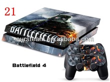 Battefield 4 STICKER SKIN For PLAY STATION 4 GAME CONSOLE CONTROLLER