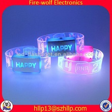 LED light girls party wear tops new product girls party wear tops