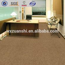 DL1006 Commercial Bitumen backing carpet tiles 50x50cm, Office, airport, waiting hall carpet tiles factory