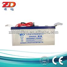 volta solar batteries 12V200AH