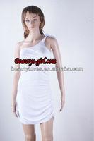 New arrival ! Fluorescence sexy bandage dress cut out bandage dress