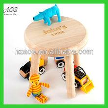 children's wooden stool/solid wood stool for children