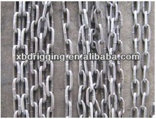 welded link silver chain