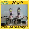 2014 new product headlight for hyundai ix35 led china factory price