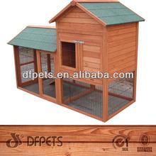 Cheap Rabbit Cage Wooden Pet Hutch For Sale DFR063