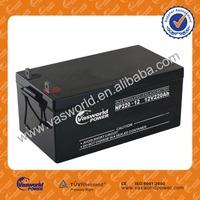 GB series lead acid battery 12v 220ah storage lead acid battery plates
