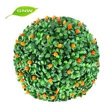 gnw box1004 prezzo di fabbrica artificiale palla topiaria bosso per la decorazione ufficio