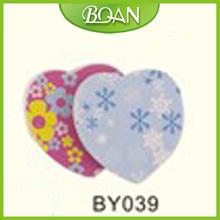 BQAN Heart Shaped Nail File Emery Board Manufacturer Sale