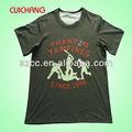 Baratos de marca nuevo modelo t camisas/ganchillo patrón de la camiseta