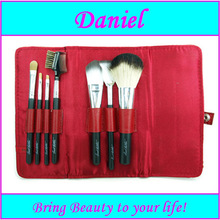6pcs pink makeup brush set / cosmetic brush set / wholesale artist paint brush