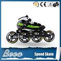 alibaba proveedor de china de color negro y verde 110mm ruedas de la pu patín de velocidad del rodillo del patín