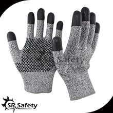 13 gauge Cut Resistant Nitrile Working Glove/Nitrile Dots On Palm Gloves