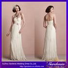 Unique A Line Sweetheart Criss Cross Handmade Flower Ruffles Pleats Appliqued Lace Net Sexy Wedding First Night Dresses