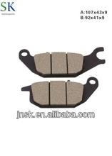 Motorcycle brake parts BRAKE PAD for suzuki,yamaha,honda,piaggio, vespa,kawasaki,triumph, peugeot