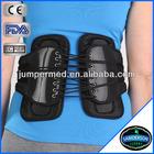 Black Adjustable Waist Support Belt for Man