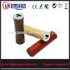 Factory Wholesale New Product hot selling~lipstick power bank 1500mah 1800mah 2000mah 2200mah 2200mah 2600mah