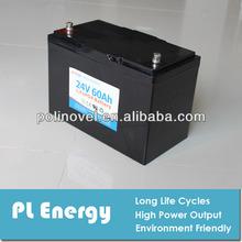 24v 60ah lithium battery for forklift, truck/ golf cart