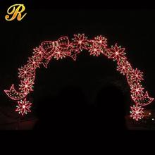 2014 egzotik şık ışıklı ferforje düğün süslemeleri
