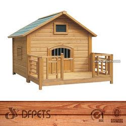 Cheap Wood Decorative Dog Crates Kennels DFD004
