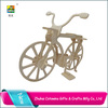 Fashion bike painted wooden craft bike cool 3d puzzles