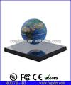 Abs plastica e acciaio specchio di base rotante magnetico globo sospeso per l'insegnamento e novità regalo
