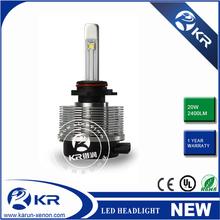 Automotive led car headlight fog light 40W 4800LM H1 9005 H8 H9 H11 9006 H4 H7 led headlights for hyundai elantra