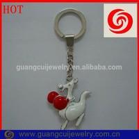 Welcome custom ODM/OEM Boxing Kangaroo keychain metal promotion
