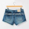 Short jeans para as mulheres, puro algodão jeans sexy para as meninas, fsb009