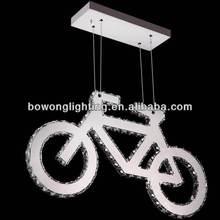 Contemporary custom-made moon pendant light,chandelier glass cover