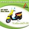 yada em5-10 48v 800w brushless PMDC 20ah lead-acid 10inch drum brake moped scooter