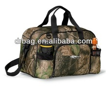 2014 New Camouflage Camo Travel Duffel bag, sport bag, duffel bag with water bottle